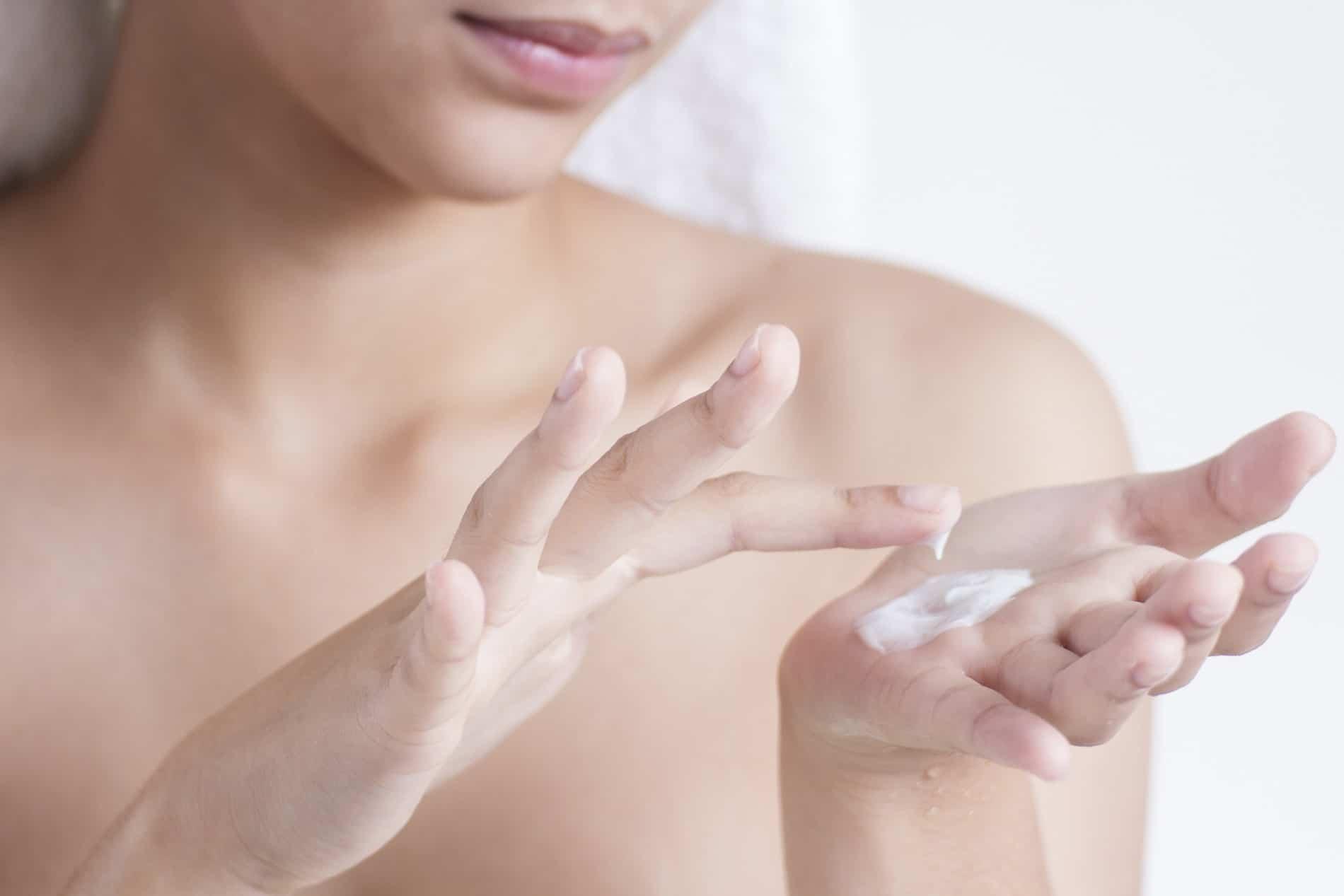 hydratation de la peau atopique