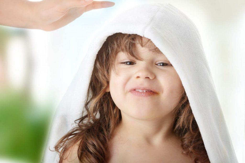 Comment restaurer la peau de l'enfant ?