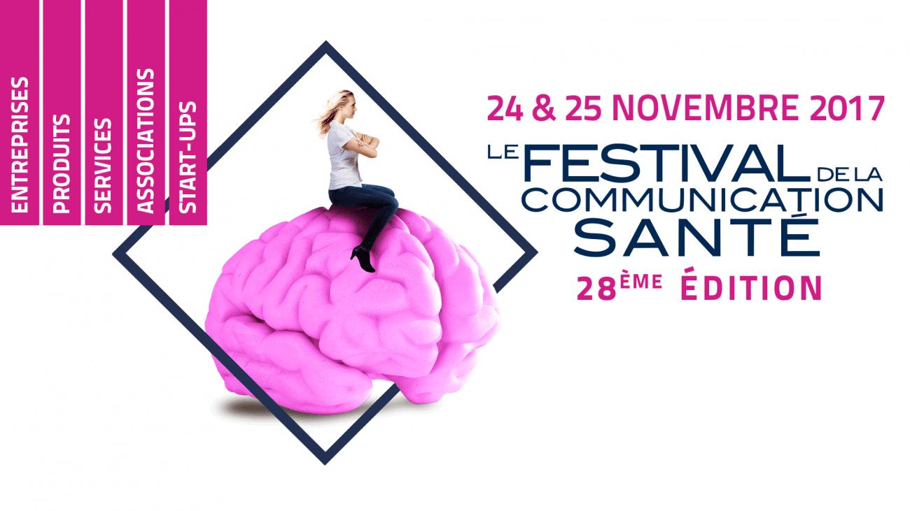 Logo festival de la communication santé 2017