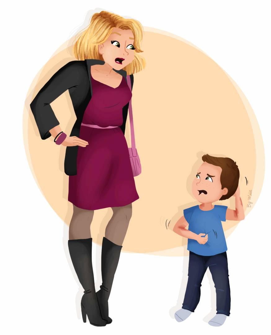 Vous avez prévu une sortie entre copines, mais votre enfant est en pleine crise…