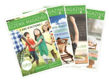 adhesion eczema magazine
