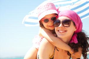 dermatite atopique et soleil