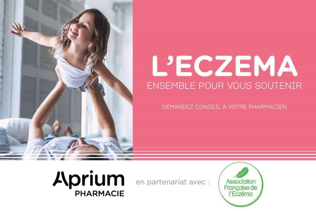 aprium pharmacie partenaire association francaise eczema
