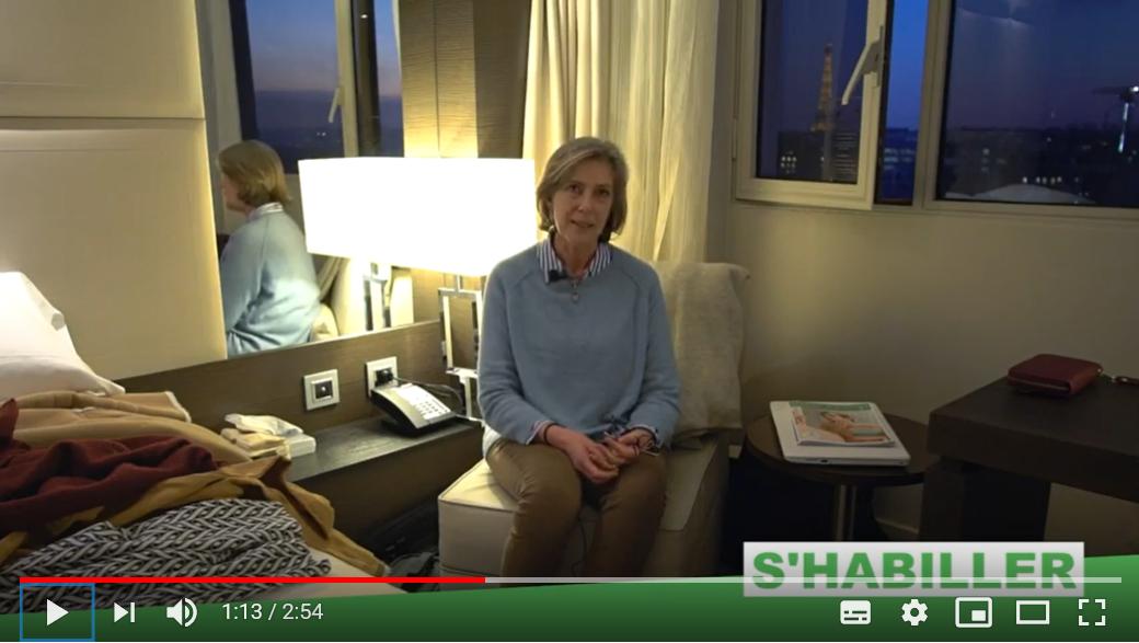 Témoignage vidéo sur l'eczéma et l'habillement