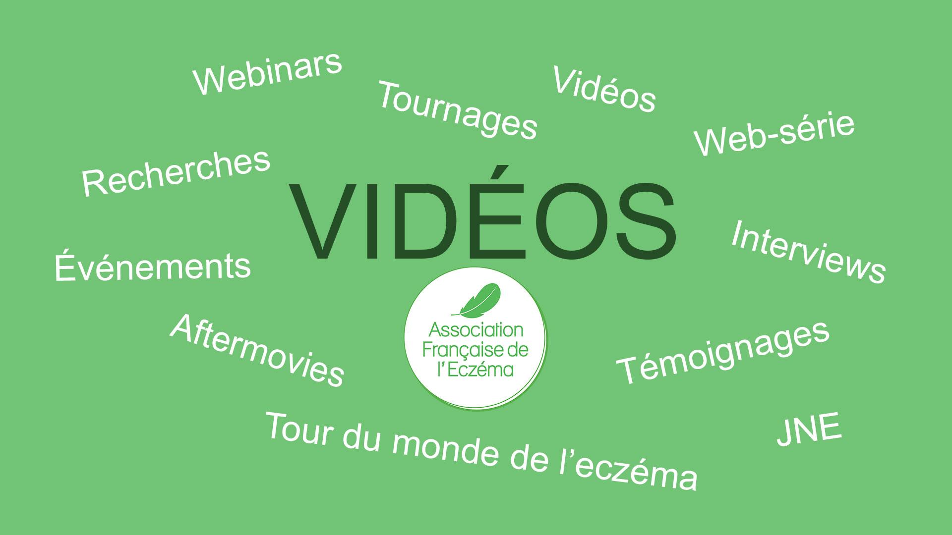 vidéo de l'association française de l'eczéma
